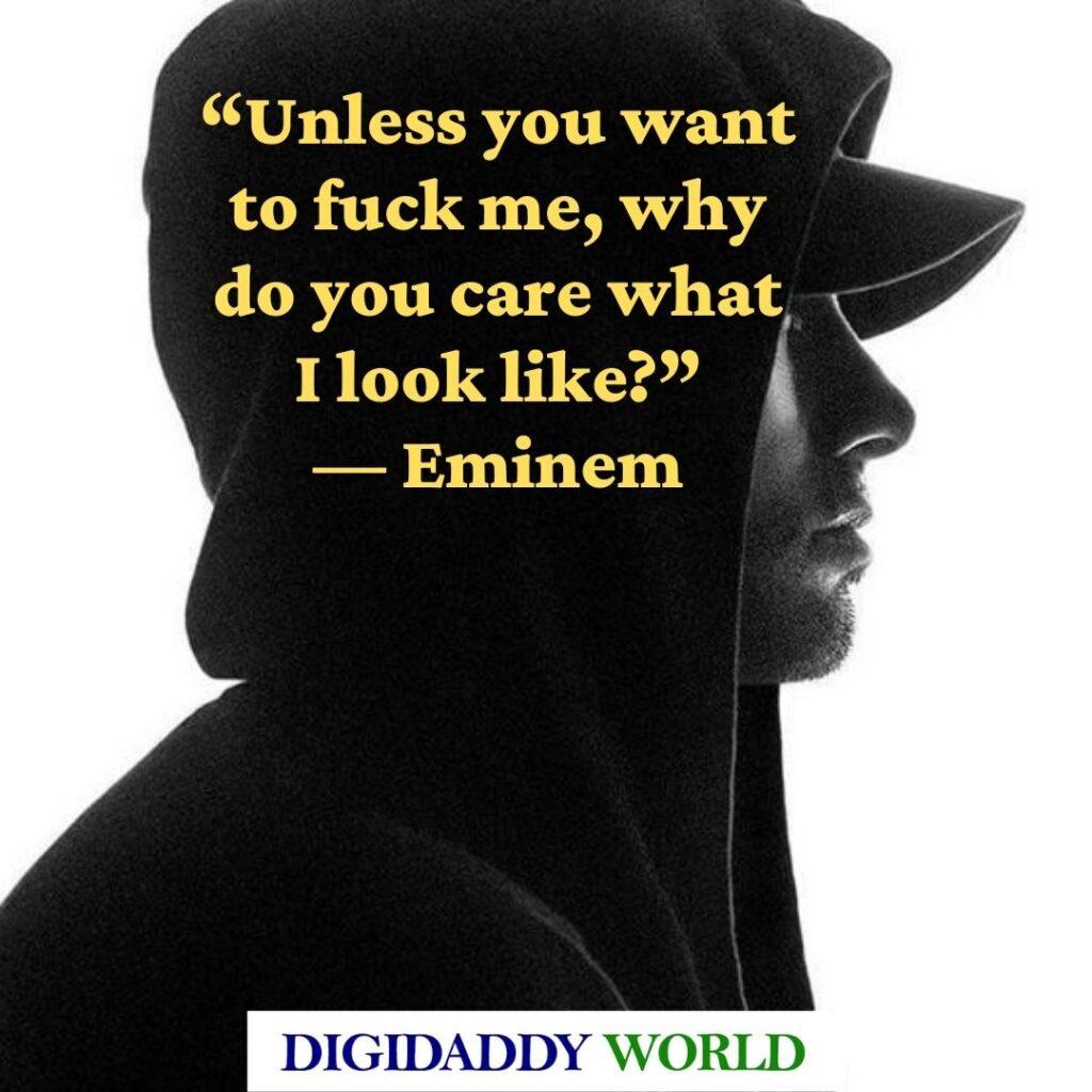 Best Eminem lyrics quotes about life