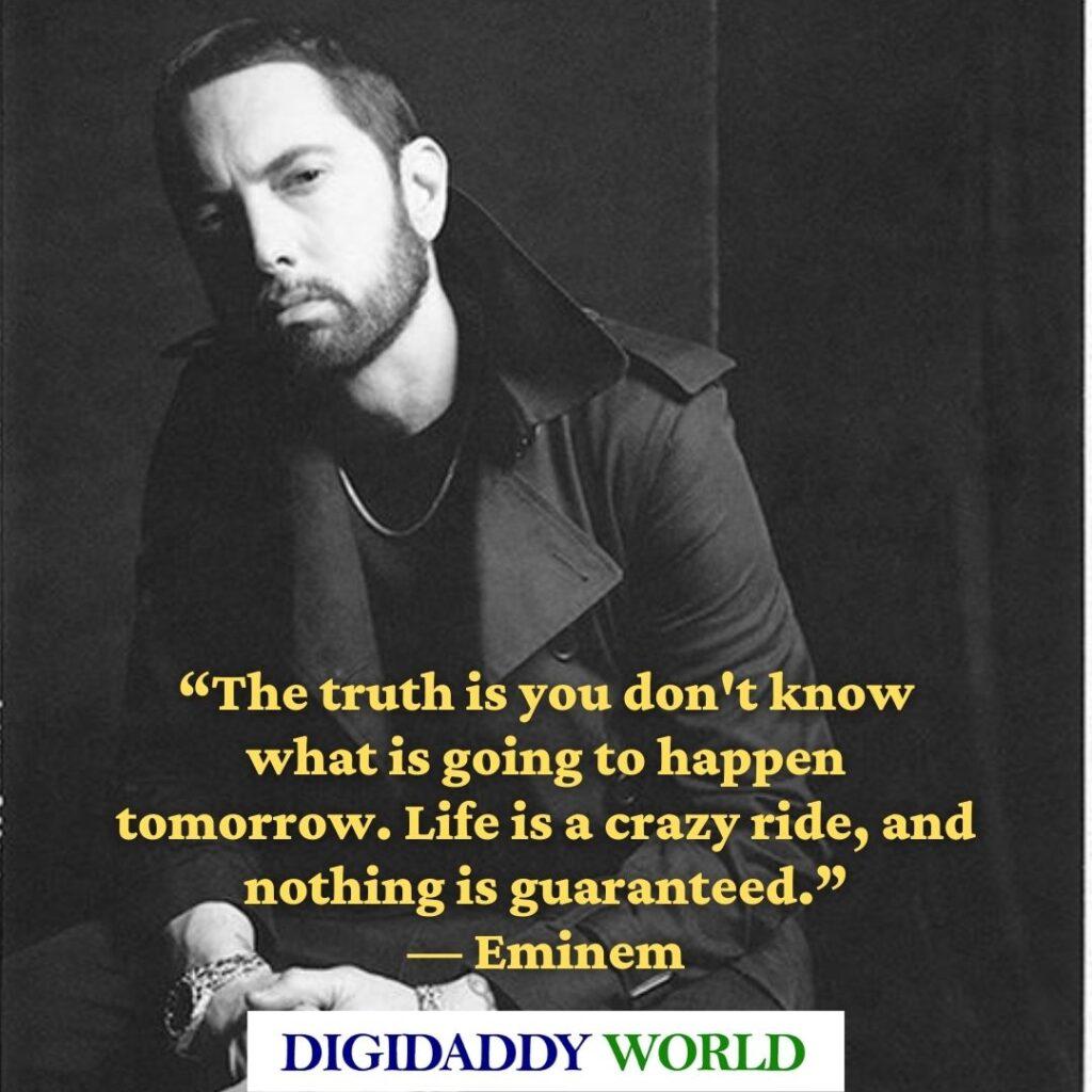 Famous Eminem best lines and captions