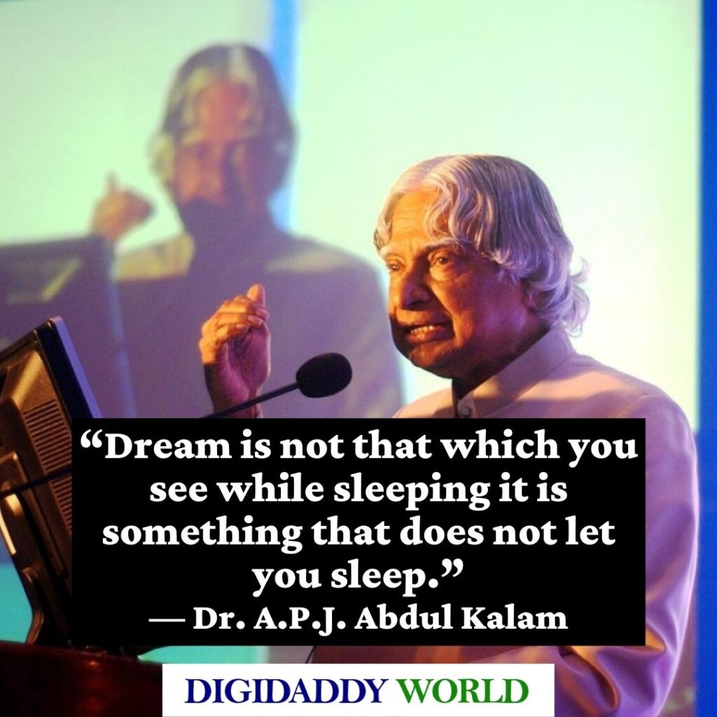 Dr. A.P.J. Abdul Kalam Quotes on Education