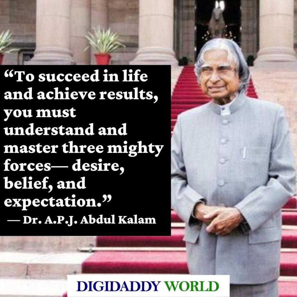 Dr. A.P.J. Abdul Kalam Quotes about Love