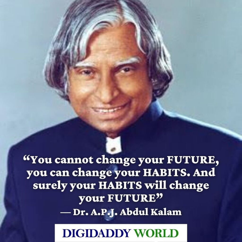 Famous Quotes of Dr. A.P.J. Abdul Kalam