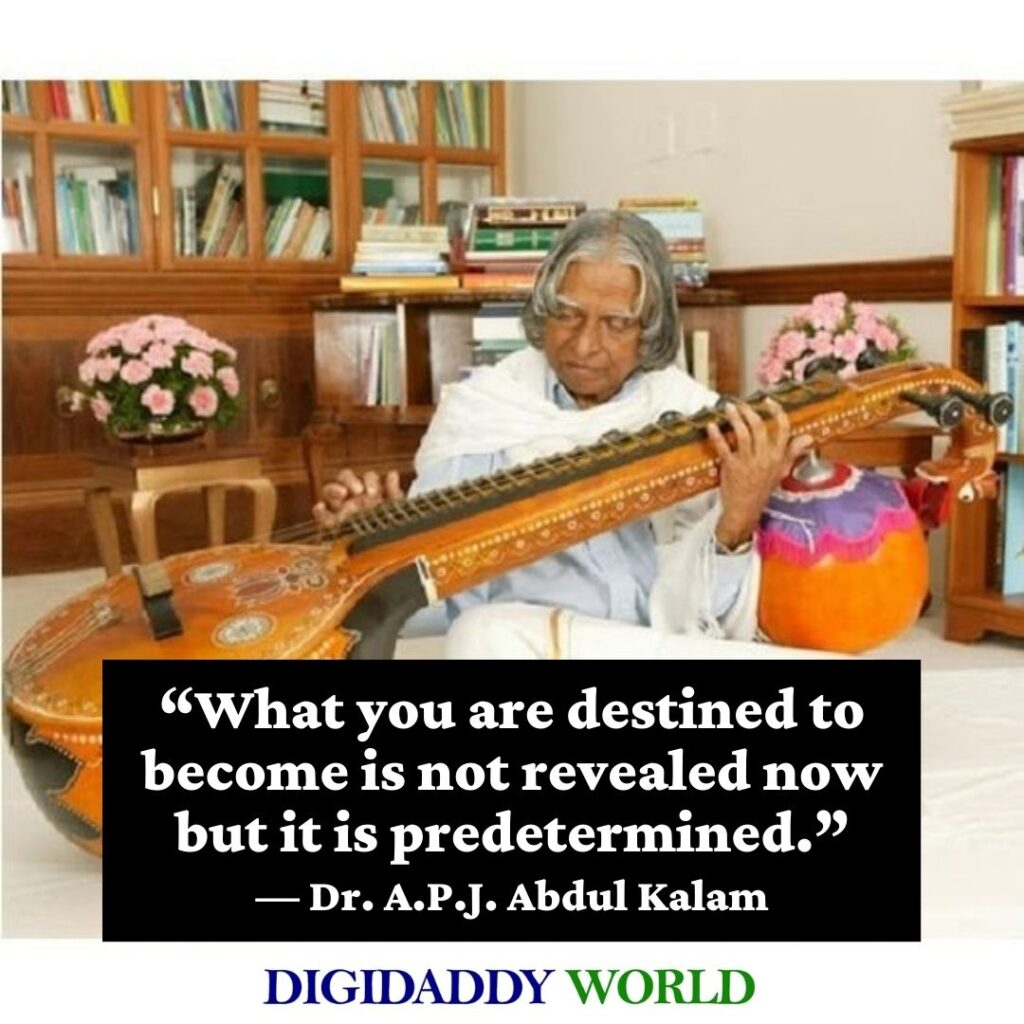 Dr. A.P.J. Abdul Kalam Azad Quotes on Education