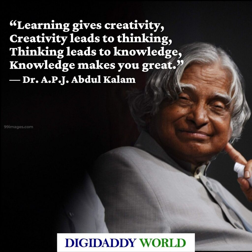 Thoughts and Quotes of Dr. A.P.J. Abdul Kalam
