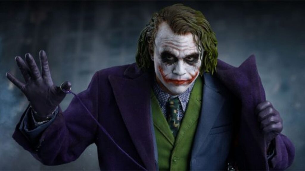 Heath Ledger Joker The Dark Knight Movie Images and Wallpaper