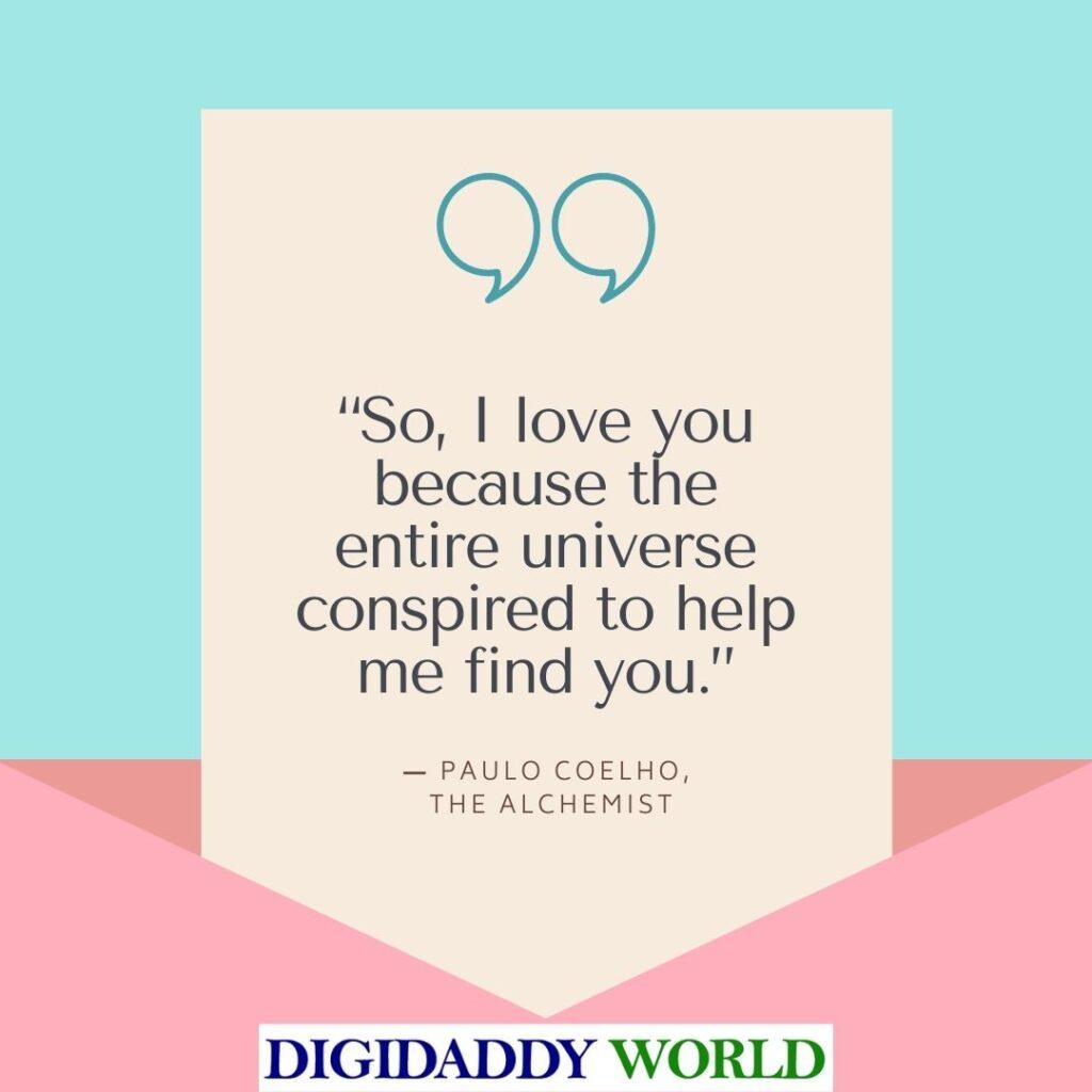 Best Paulo Coelho The Alchemist Book Quotes
