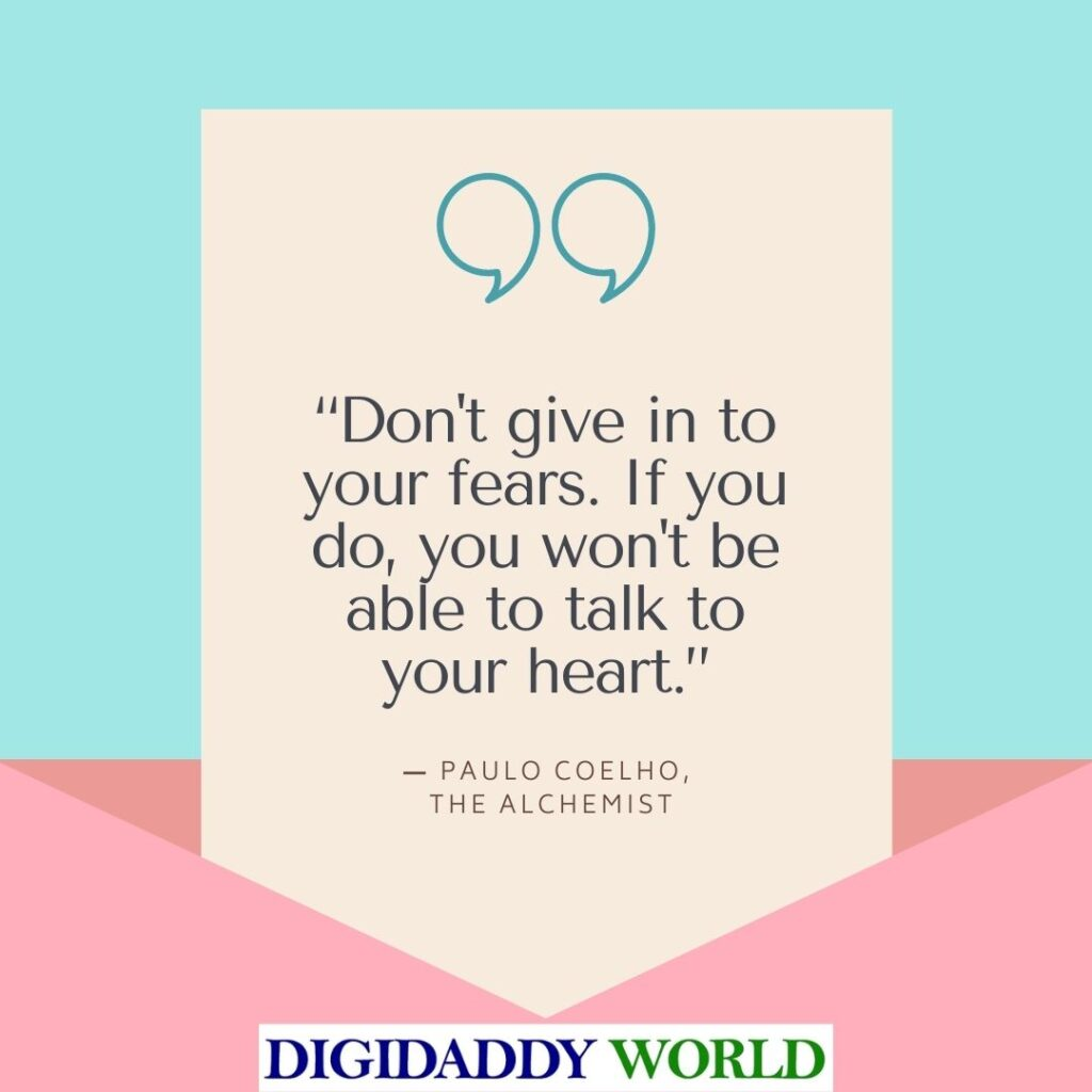 The Alchemist Book Quotes About Love