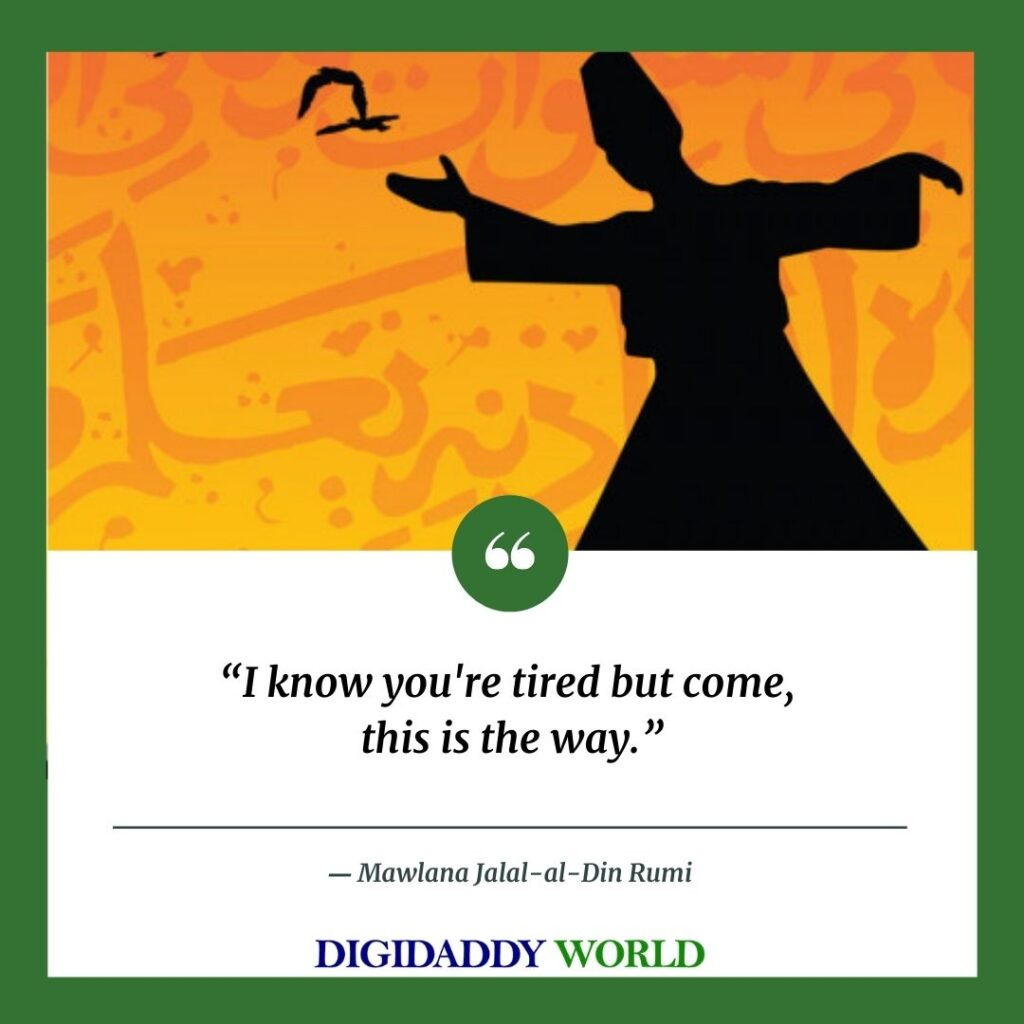 Rumi deep Quotes On Life, love marriage in english