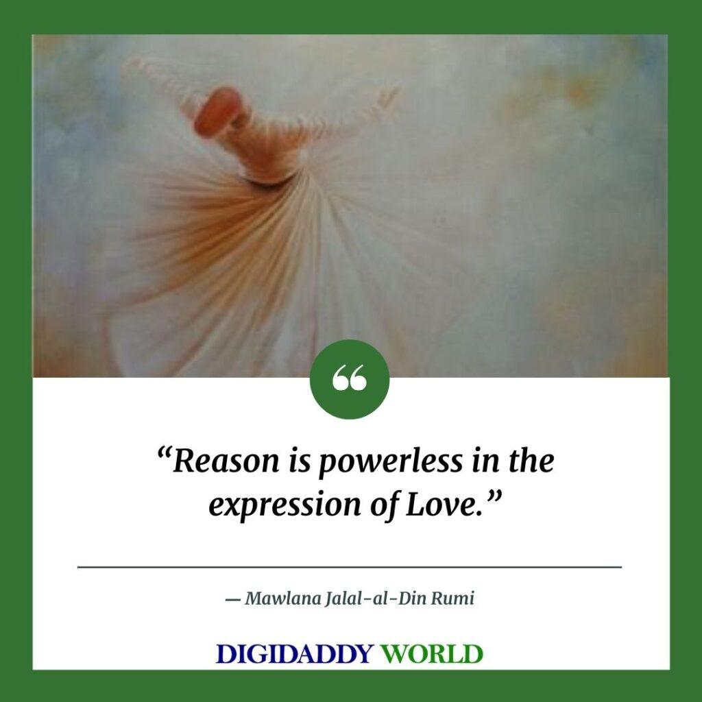 Rumi sad love Quotes on life healing