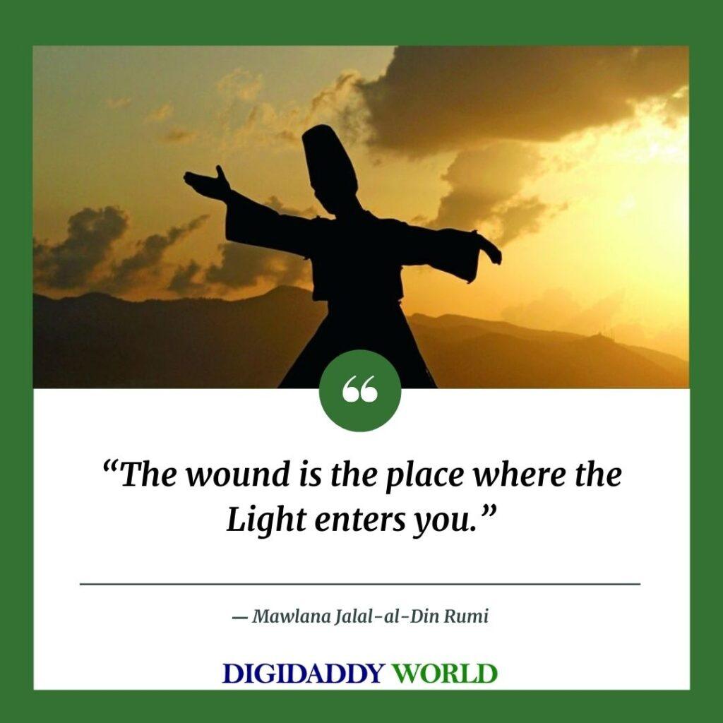 Best Jalaluddin Rumi Quotes On Life, Death, God