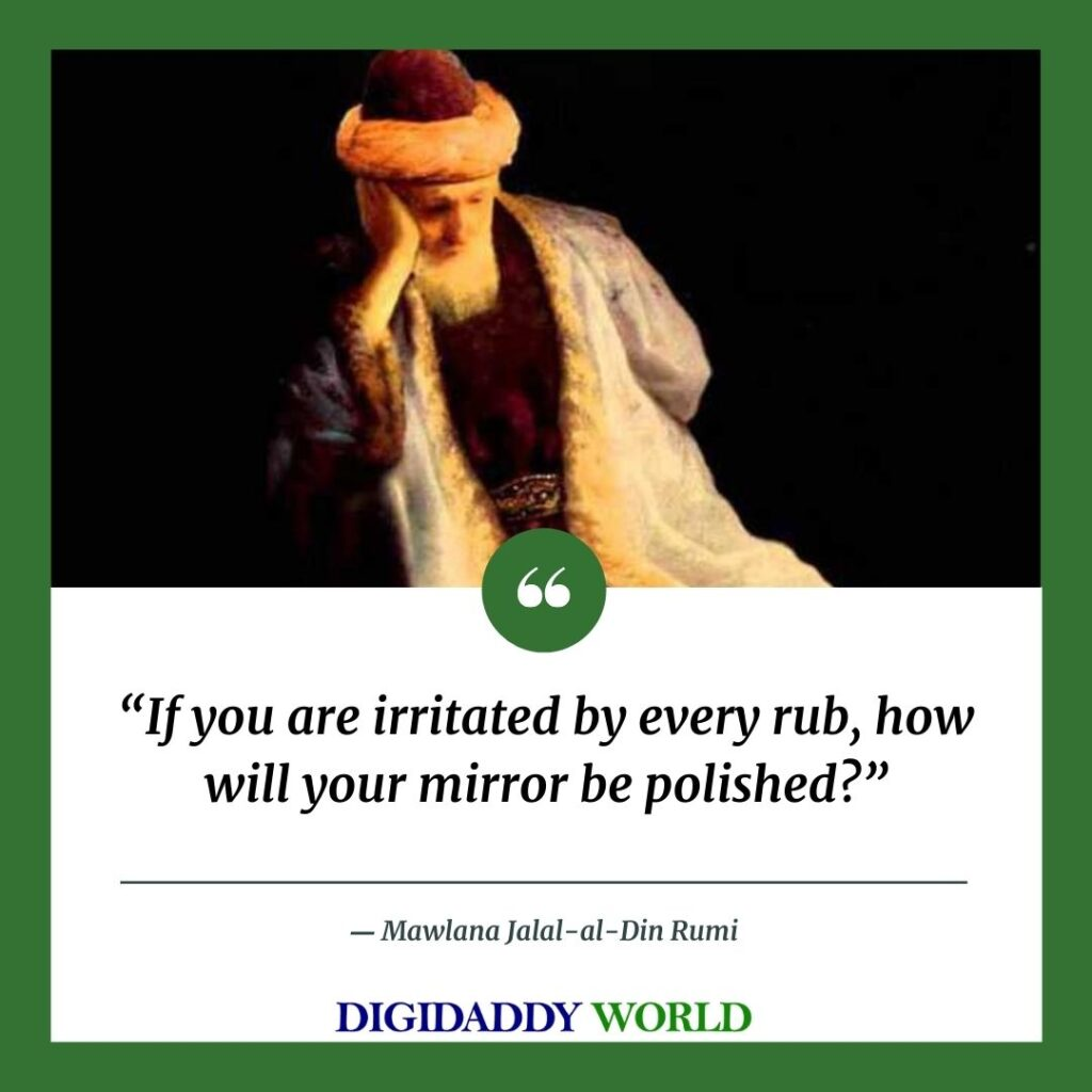 Jalaluddin Rumi Quotes On Life, Nature, Silence