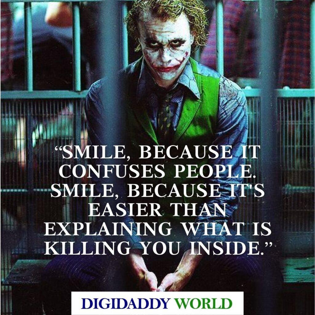 Heath Ledger Joker Movie Quotes