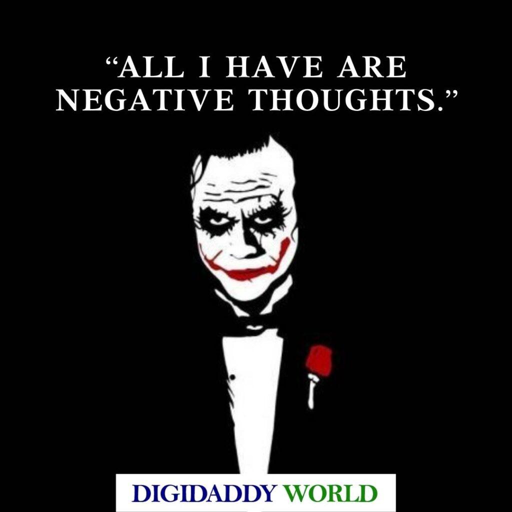 Heath Ledger Joker Quotes, Captions, Sayings