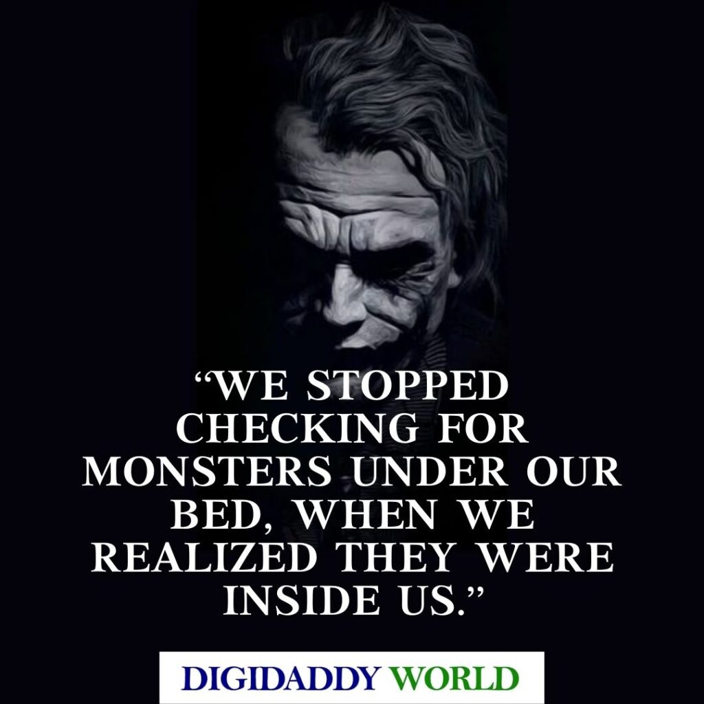 Famous Heath Ledger Joker Quotes and Movie Dialogue