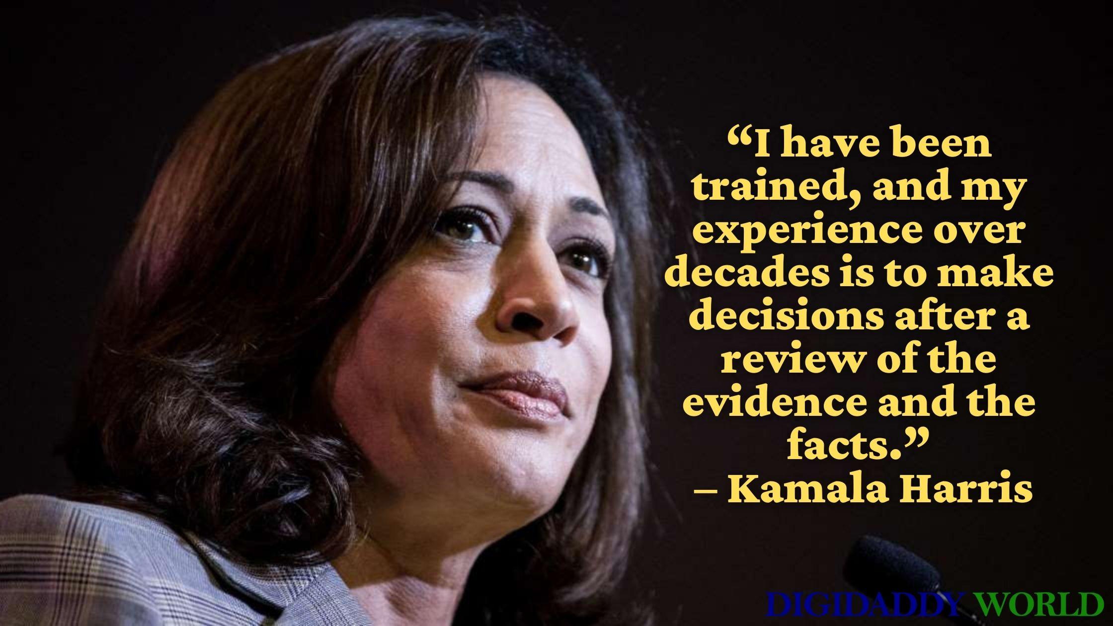Powerful Kamala Harris Quotes for Women Empowerment