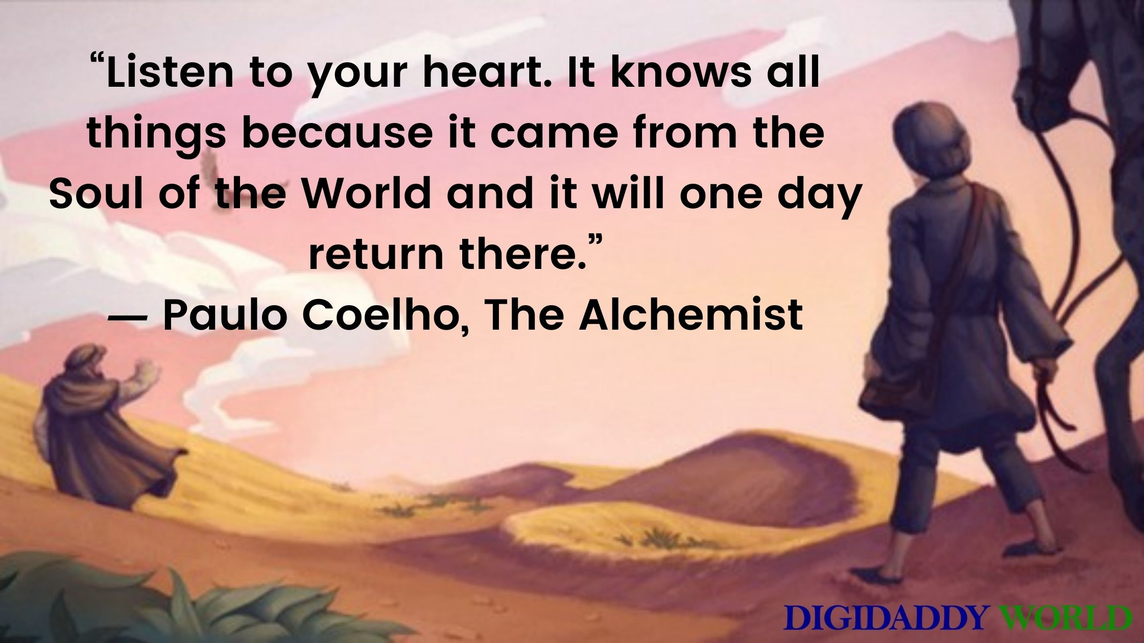 Best Paulo Coelho The Alchemist Book Quotes About Love