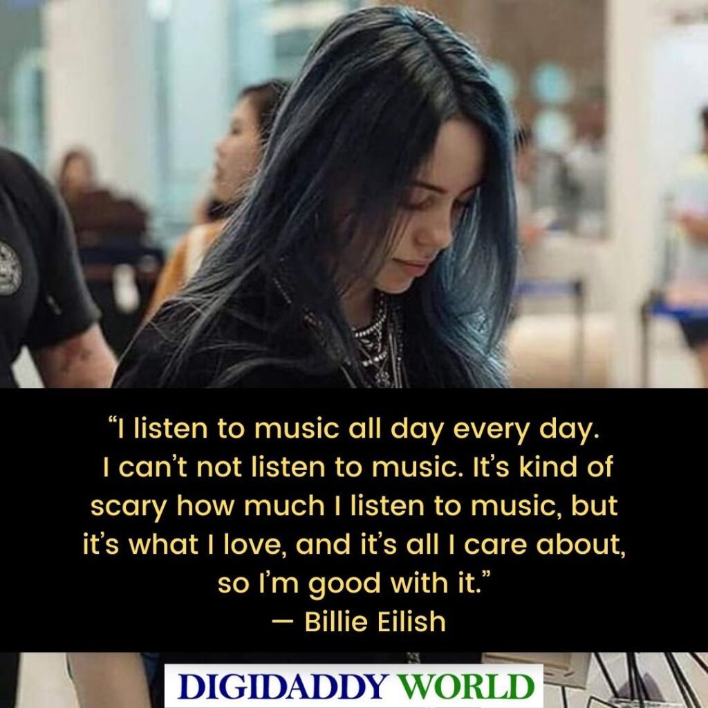 Best Billie Eilish Inspirational Quotes and Sayings