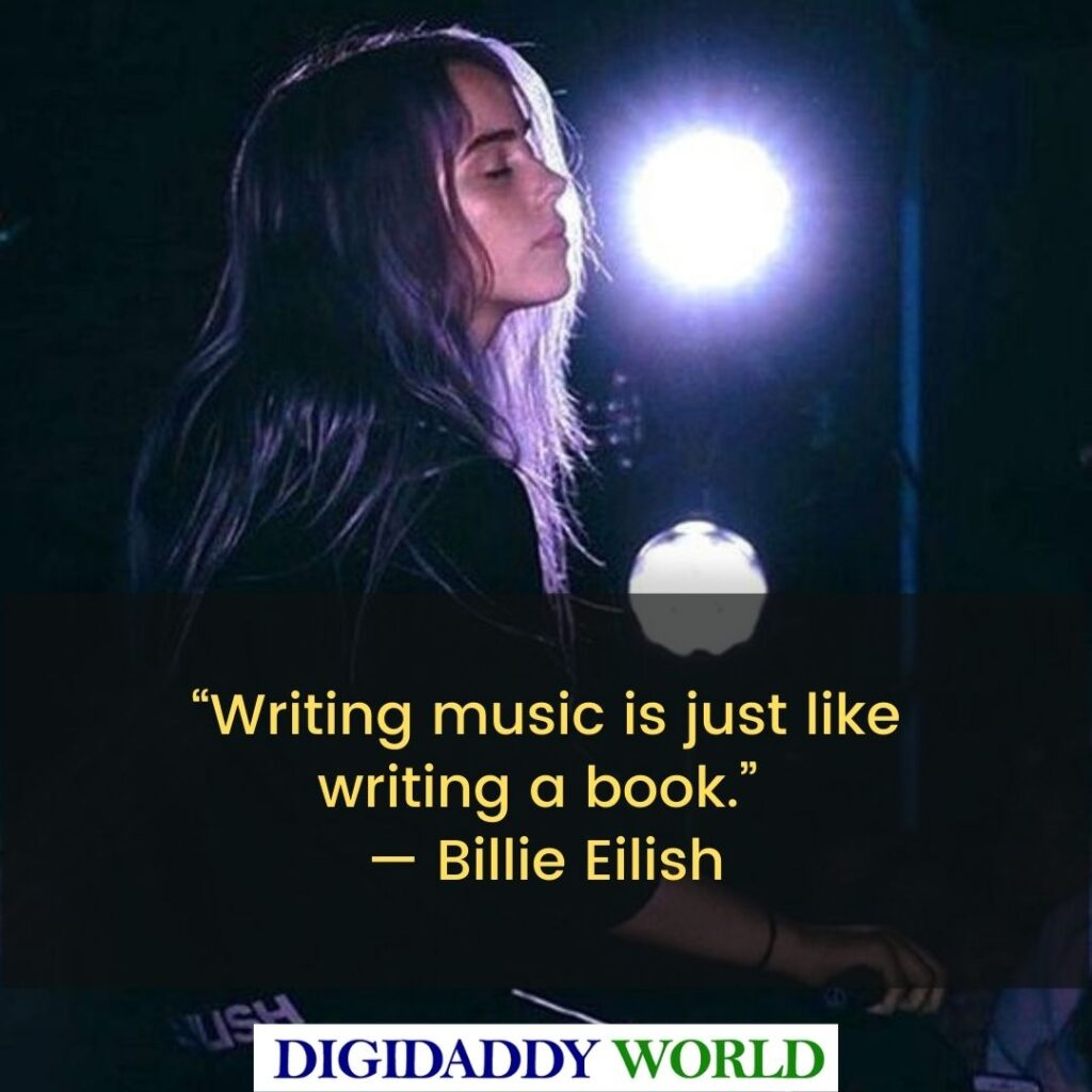 Inspiring Billie Eilish Quotes and Sayings