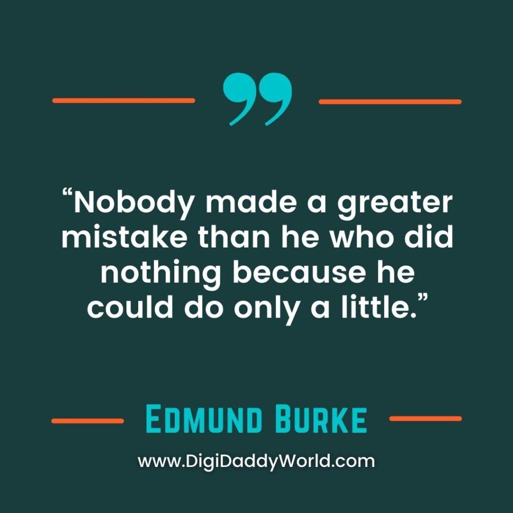 Sir Edmund Burke Quotes On Human Nature