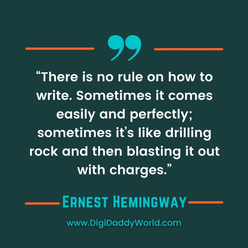 For Whom The Bell Tolls Hemingway Quotes