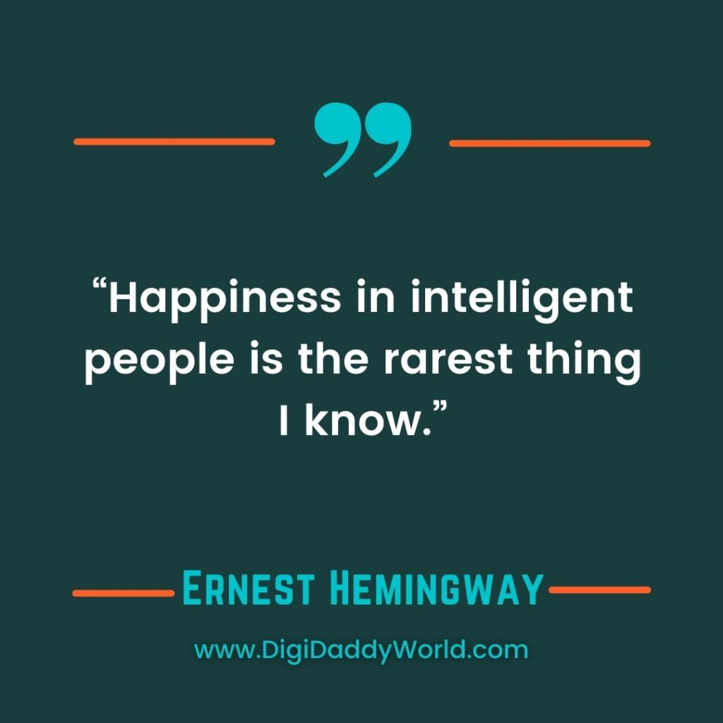 A Moveable Feast Hemingway Quotes