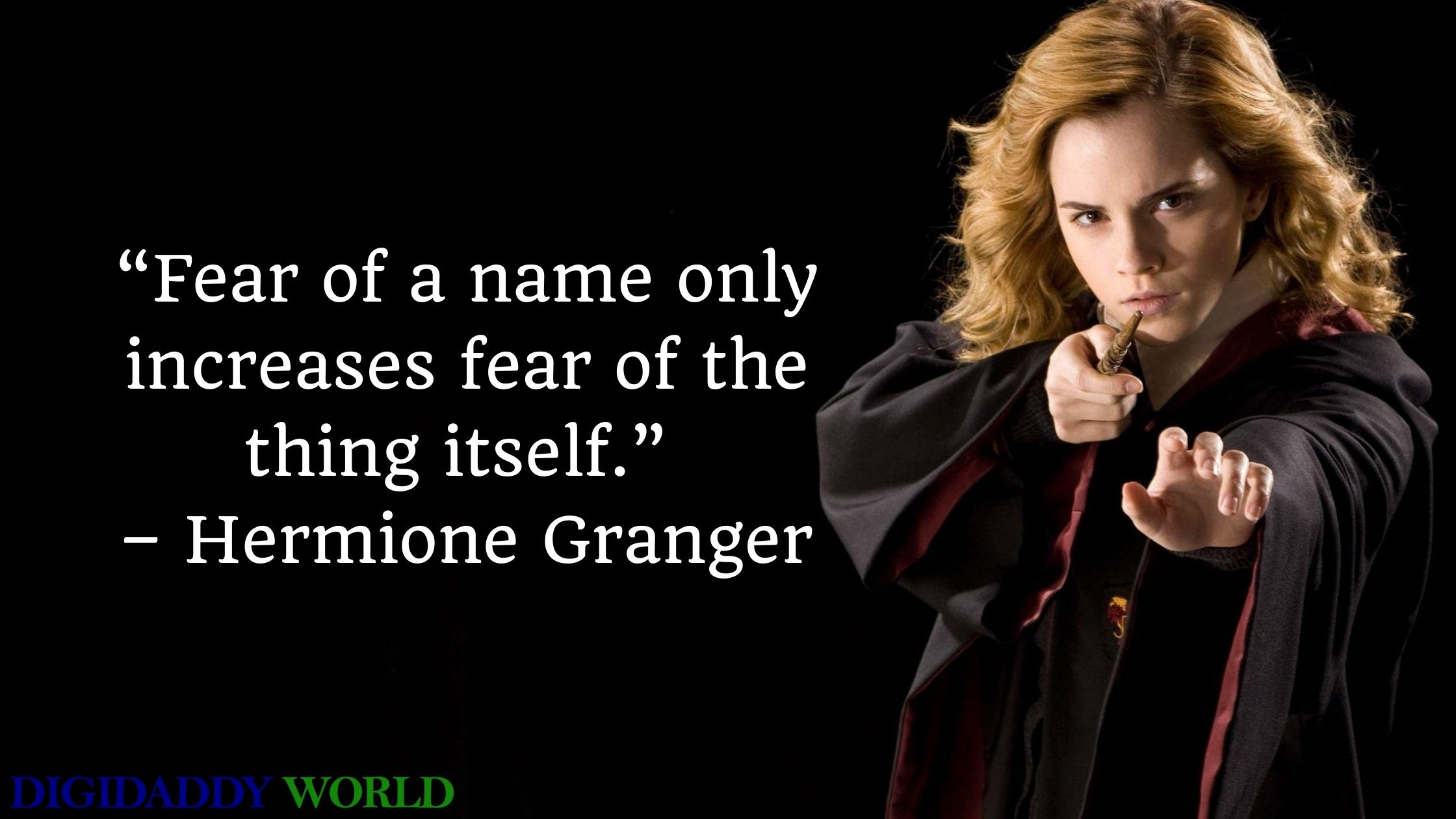Famous Hermione Granger Iconic Quotes & Best Lines