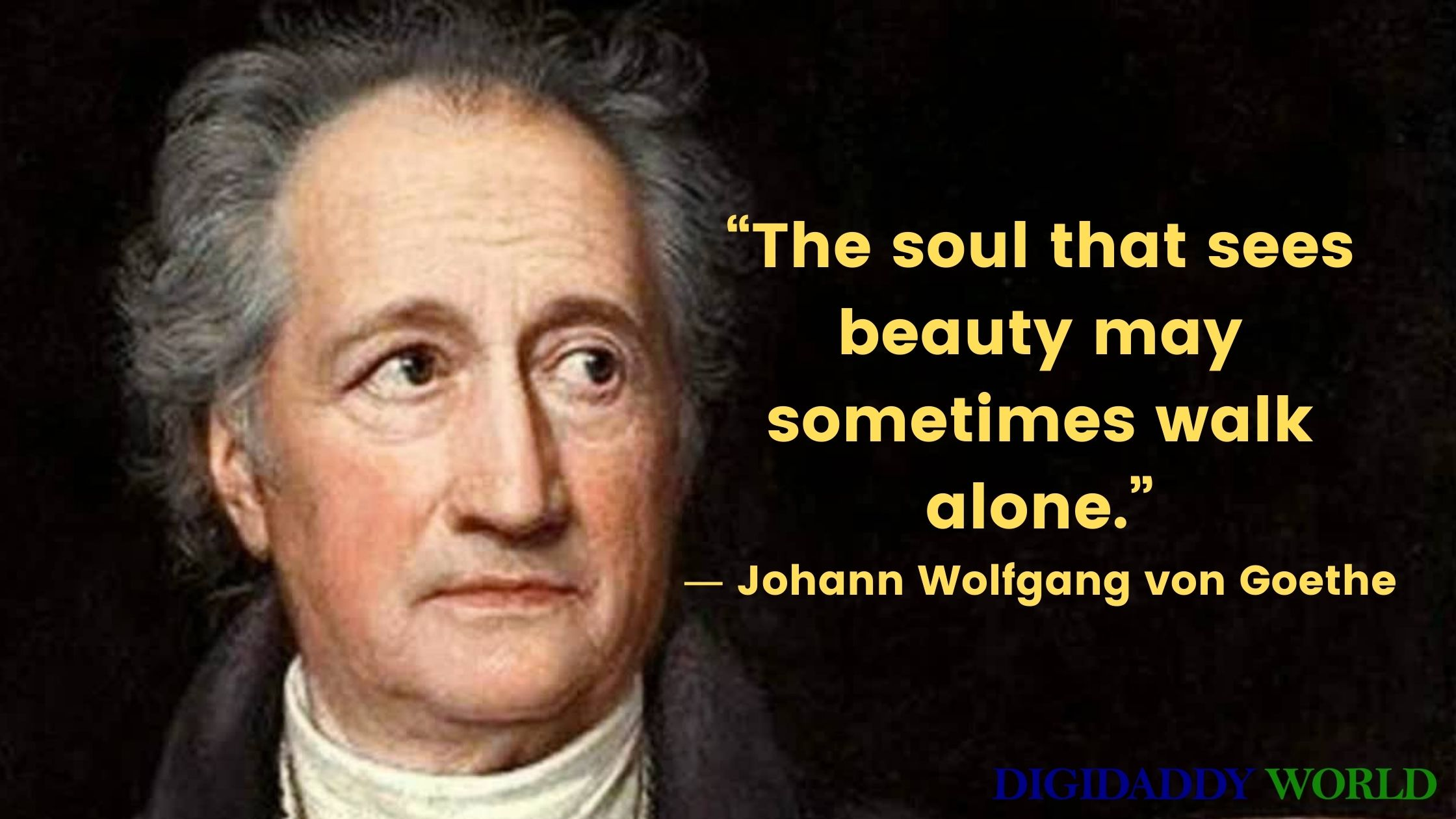 Famous Johann Wolfgang Von Goethe Love Quotes