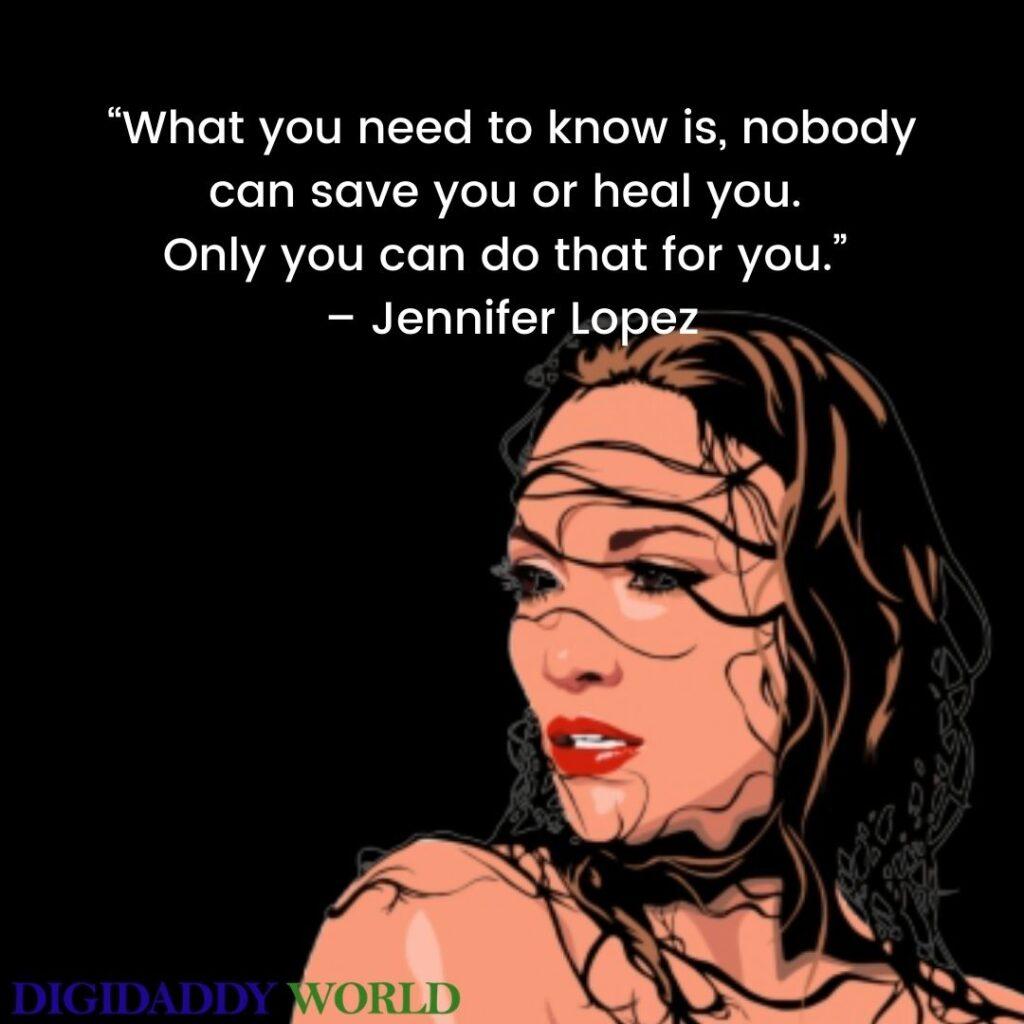 Jennifer Lopez Quotes On Success