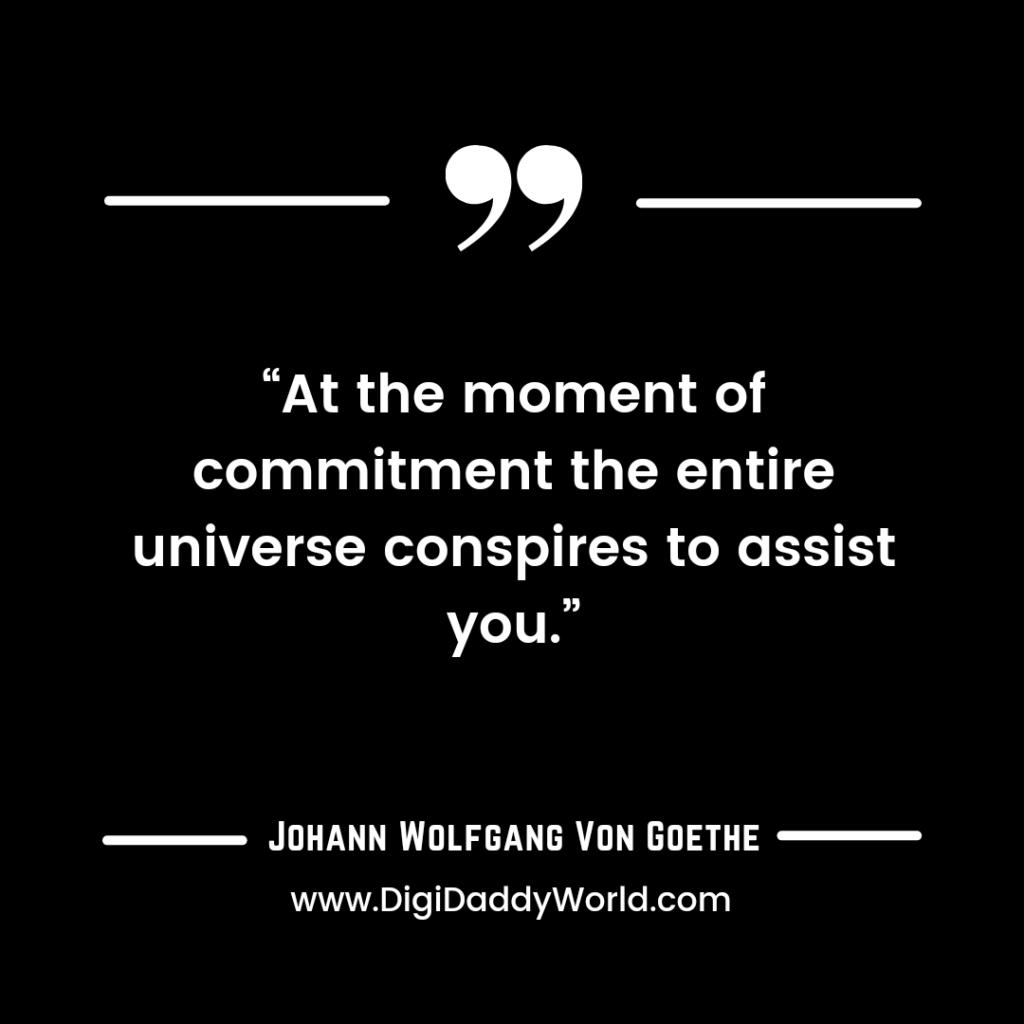Johann Goethe Quotes