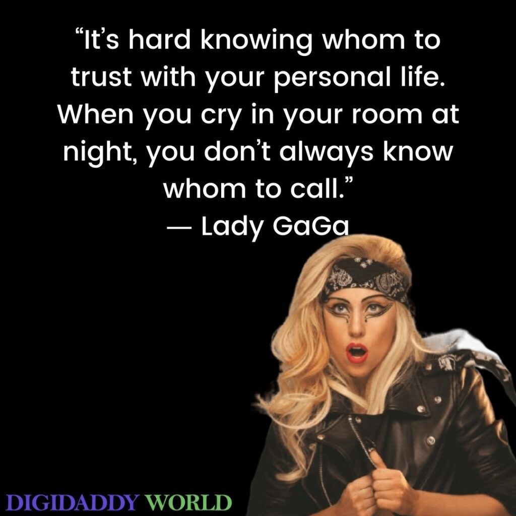Lady Gaga Lgbt Quotes