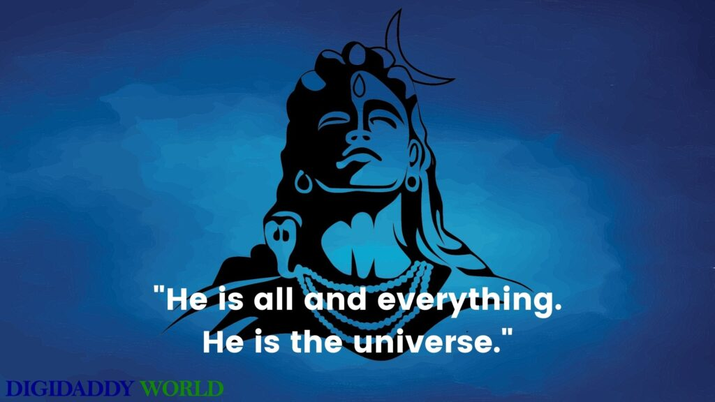 Mahadev Lord Shiva Images With Quotes in English