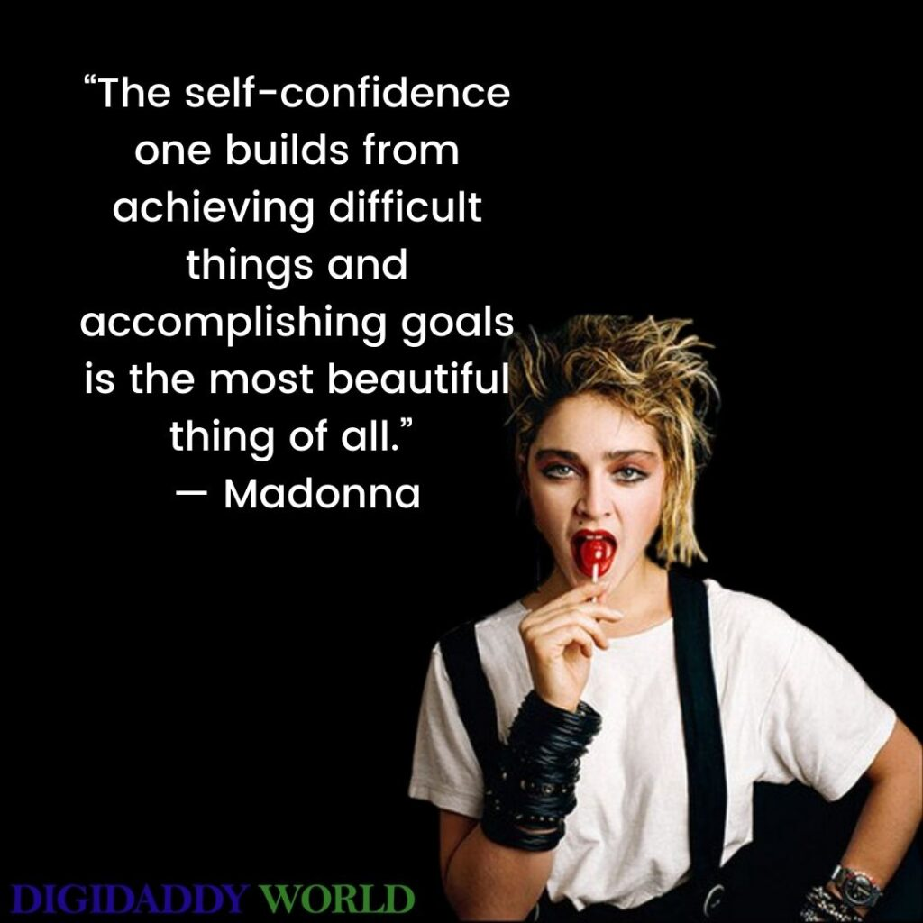 Best Madonna Quotes