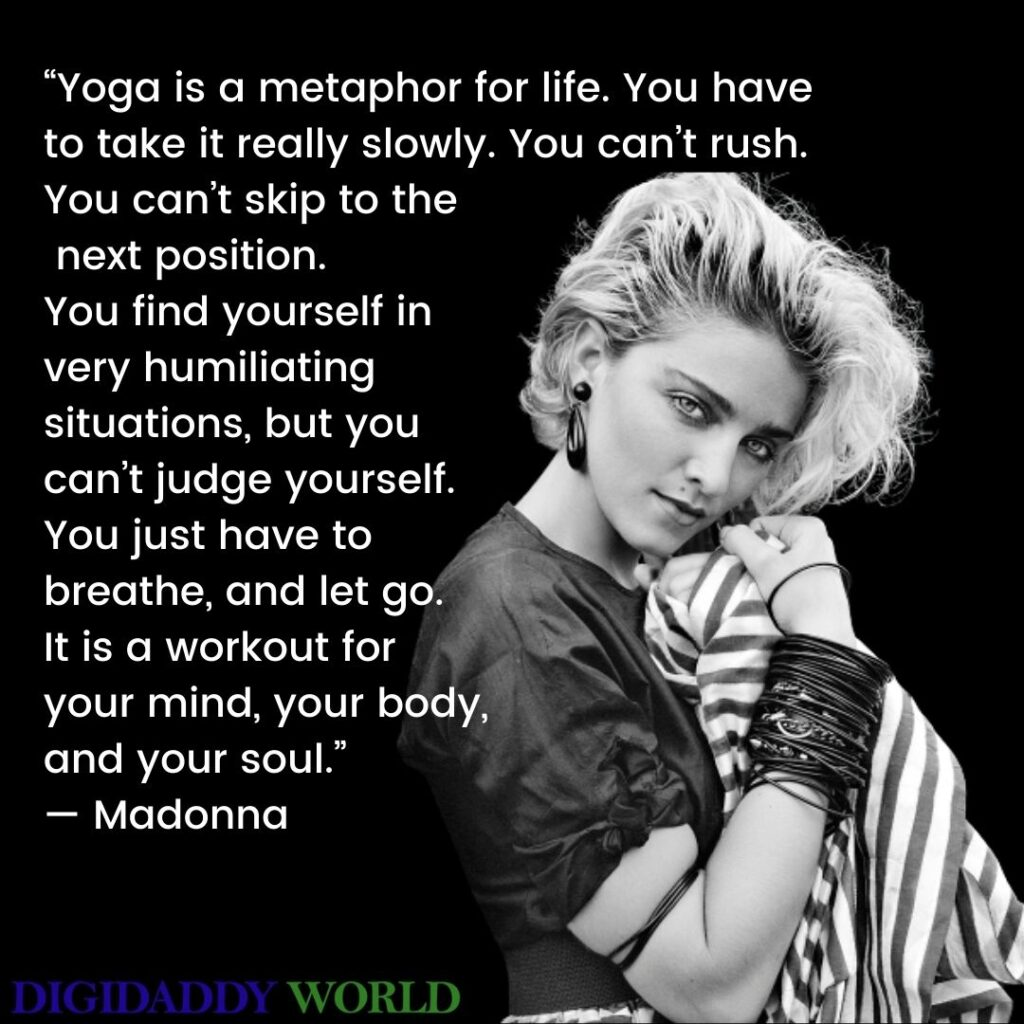 Madonna Famous Quotes