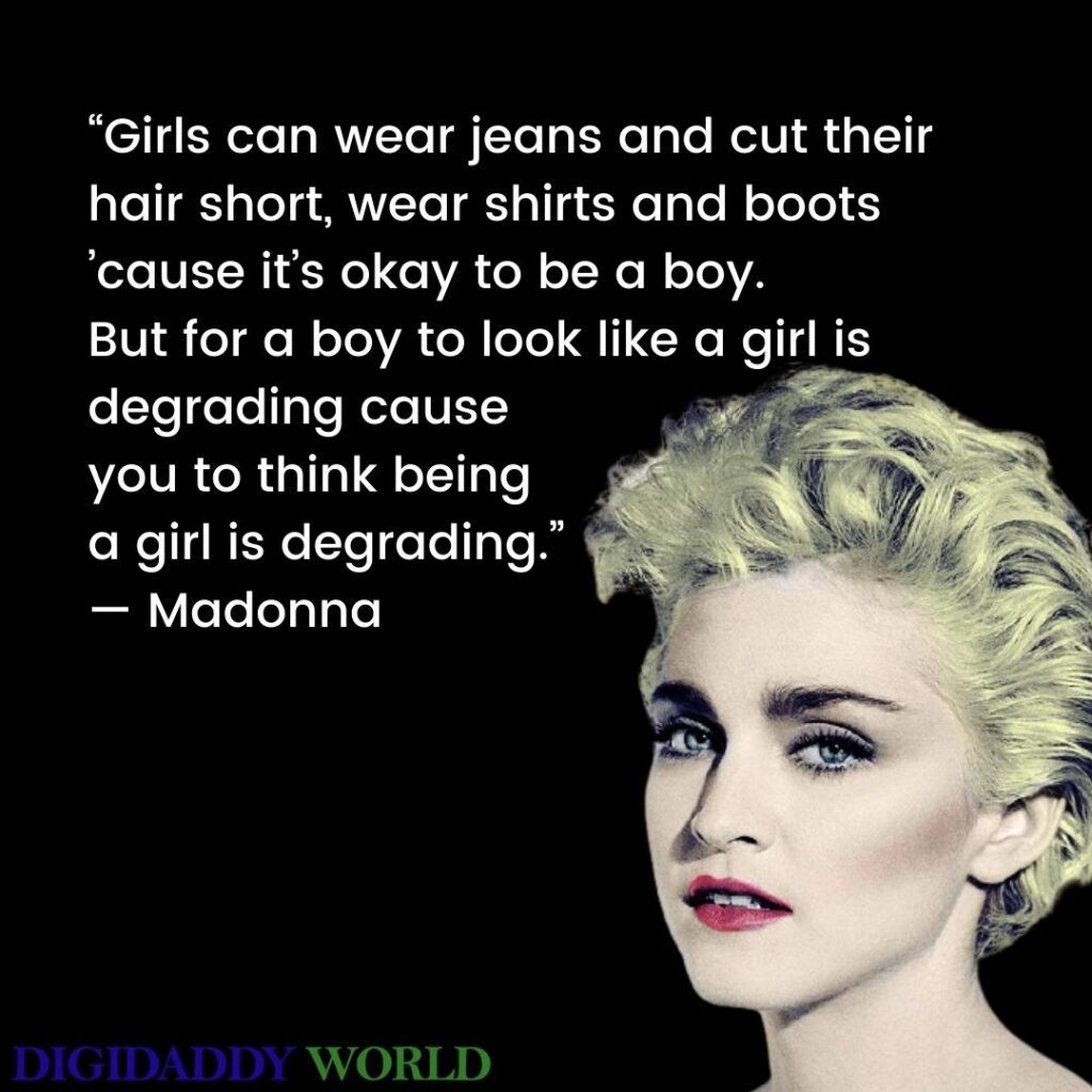 Madonna Motivational Quotes