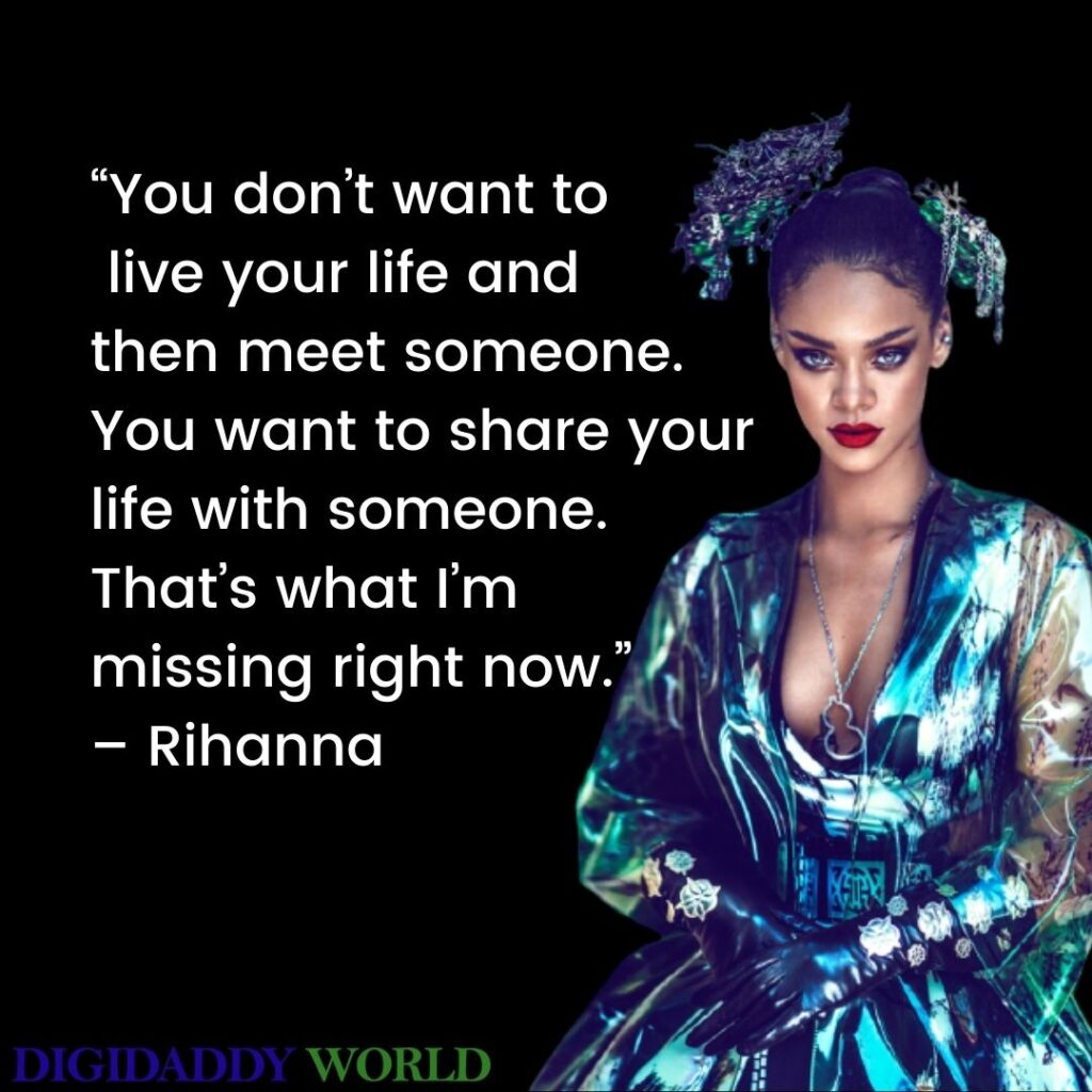 Rihanna Savage Quotes From Songs