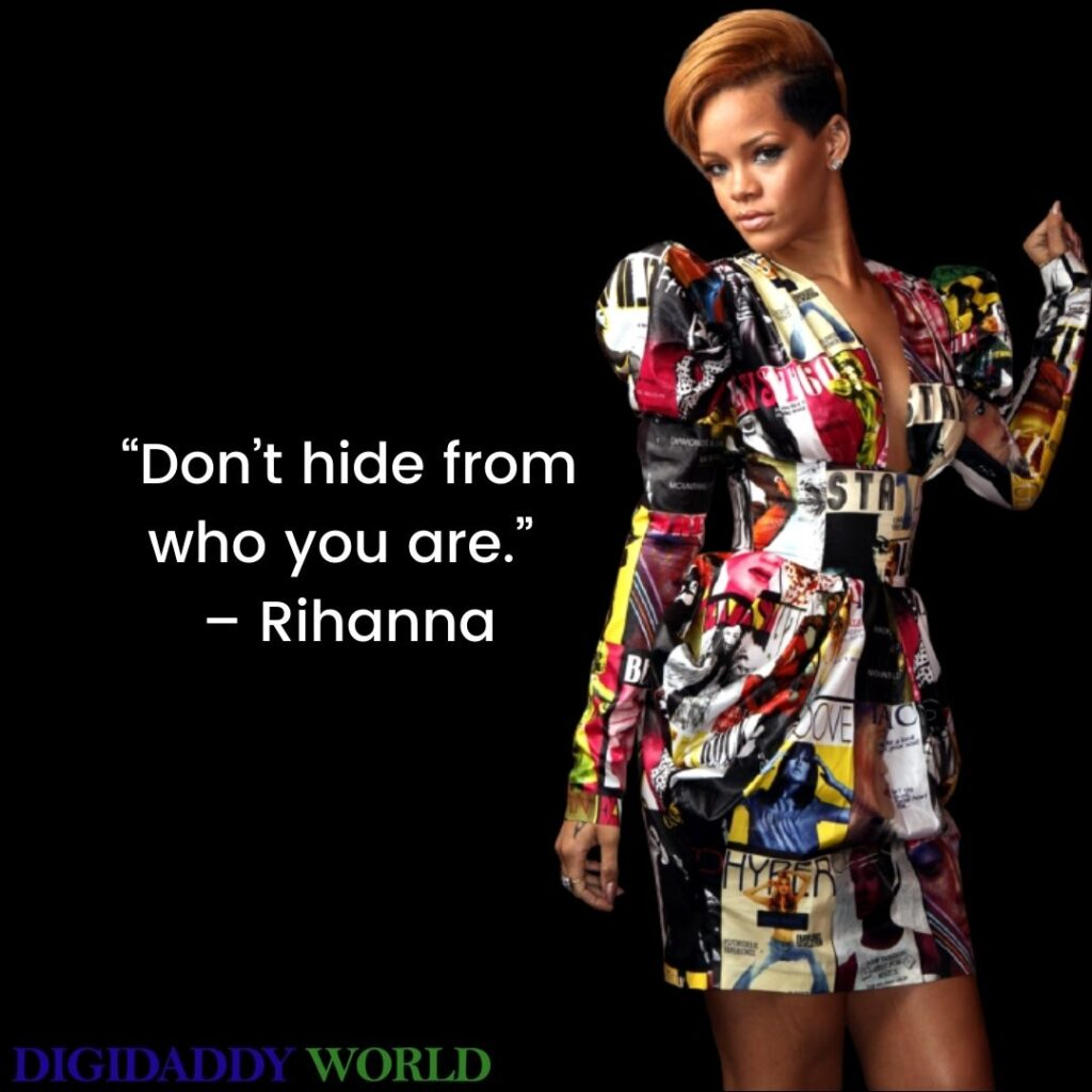 Best Rihanna Inspirational Quotes & Sayings