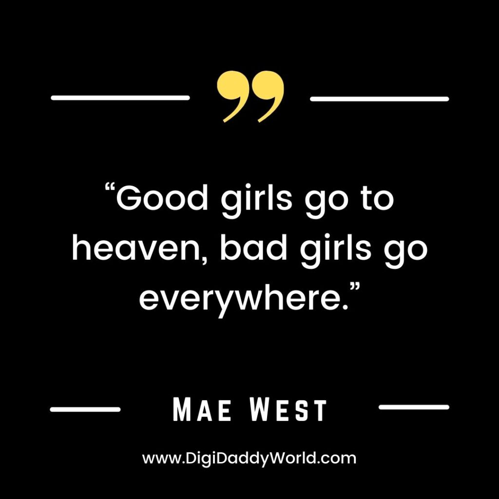 Best Mae West Famous Quotes and Sayings