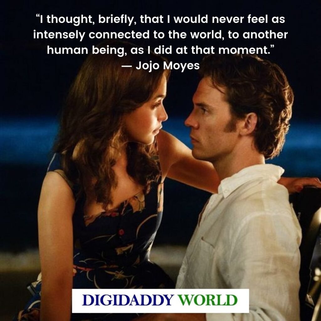 Me Before You Best Quotes