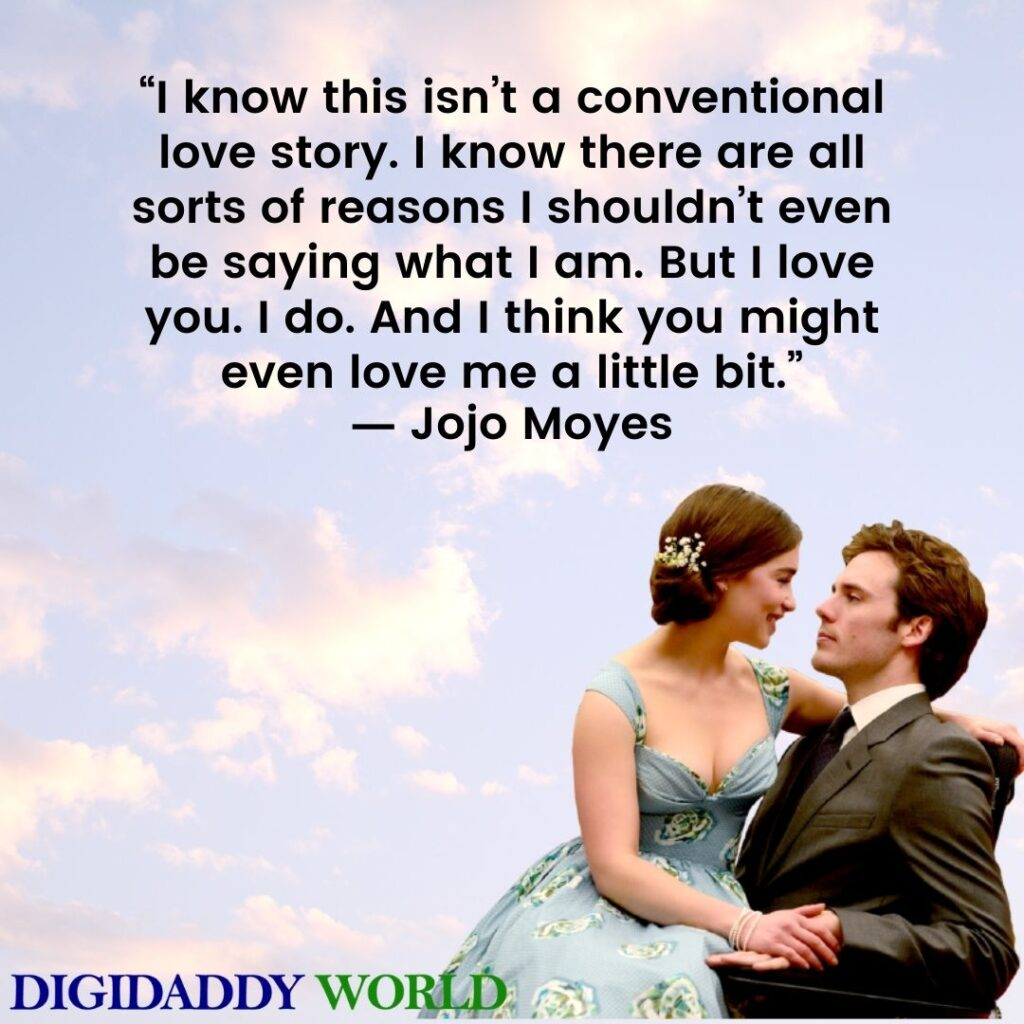 Me Before You Love Quotes