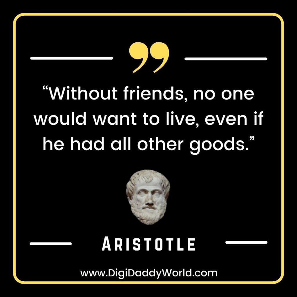 Famous Aristotle Quotes on Friendship, Love, Life, Politics