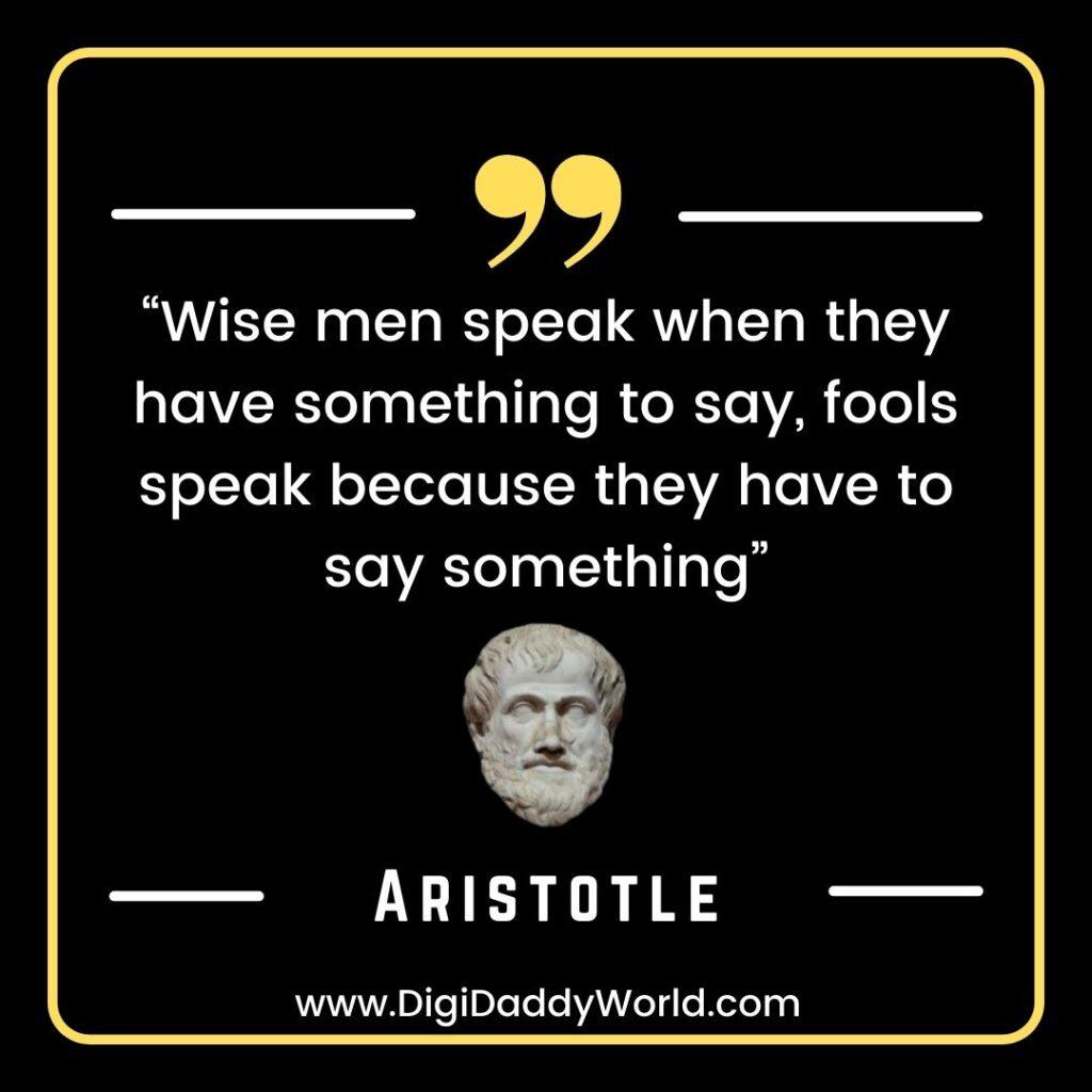 Famous Aristotle Quotes on The Soul, Love, Life, Politics