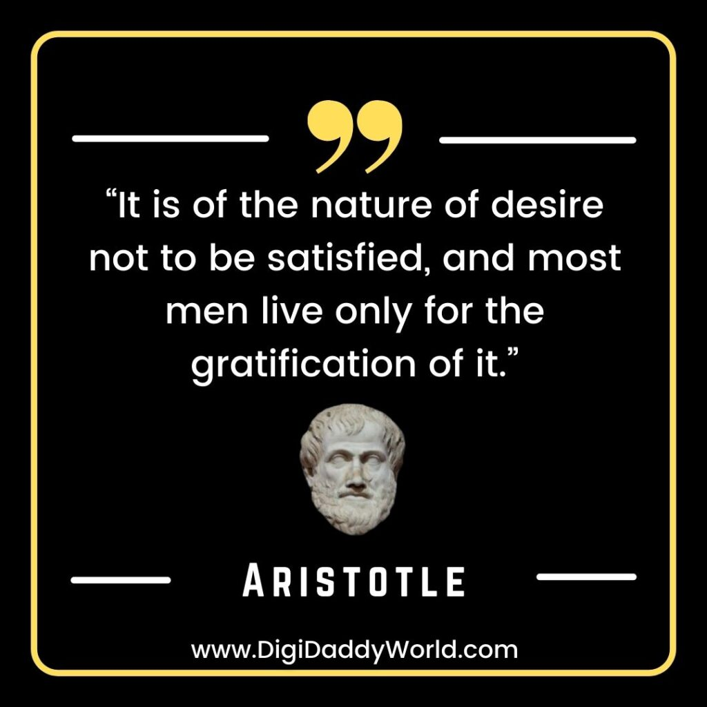 Famous Aristotle Quotes on Education, Love, Life, Politics