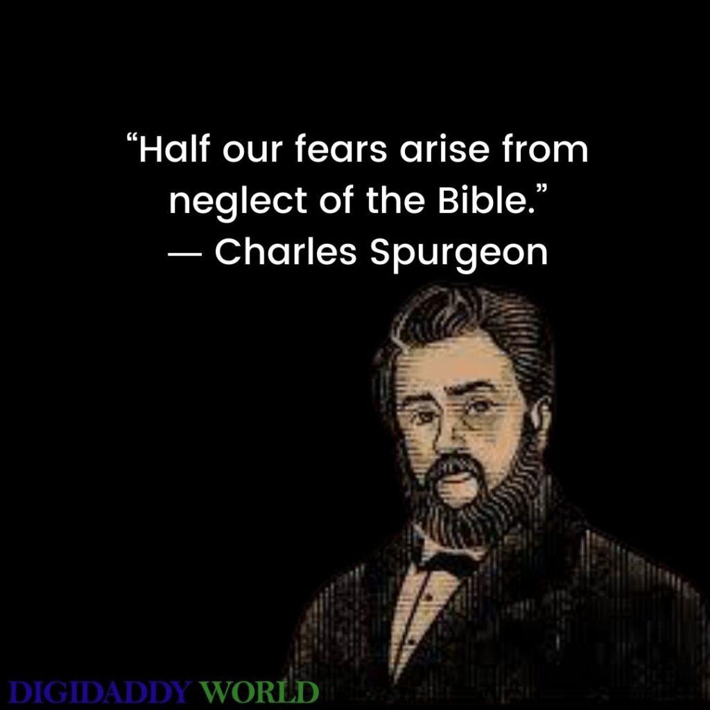 Charles Haddon Spurgeon Quotes On Grace, Prayer, love