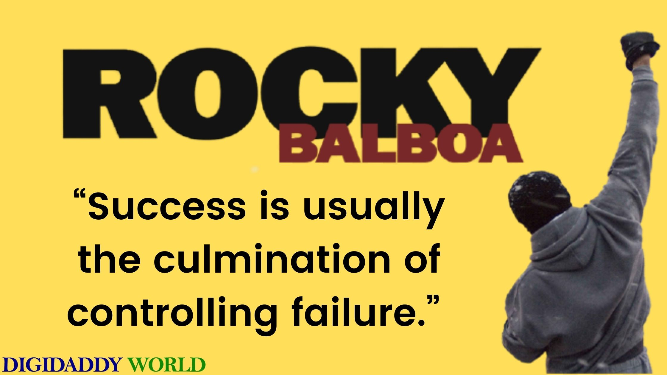 Famous Rocky Balboa Inspirational Quotes About Love, Life