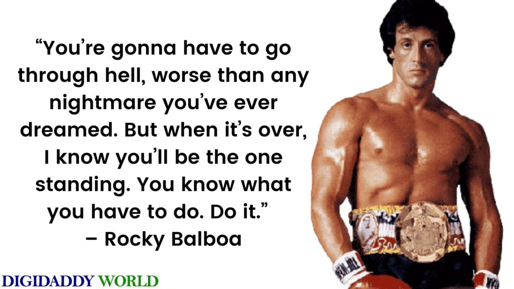 Rocky Balboa Quotes images and wallpaper