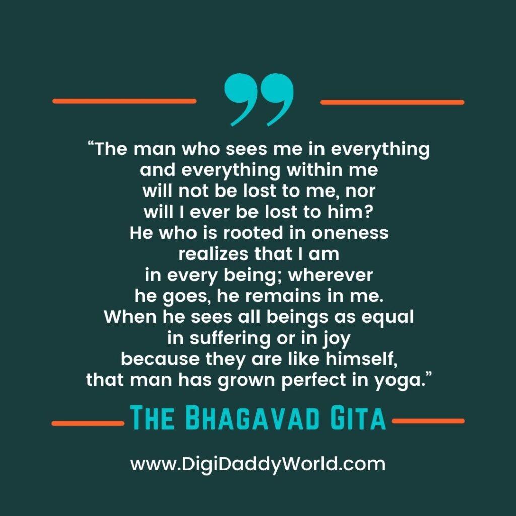 Bhagwat Geeta Quotes in English on Life, Love, Karma