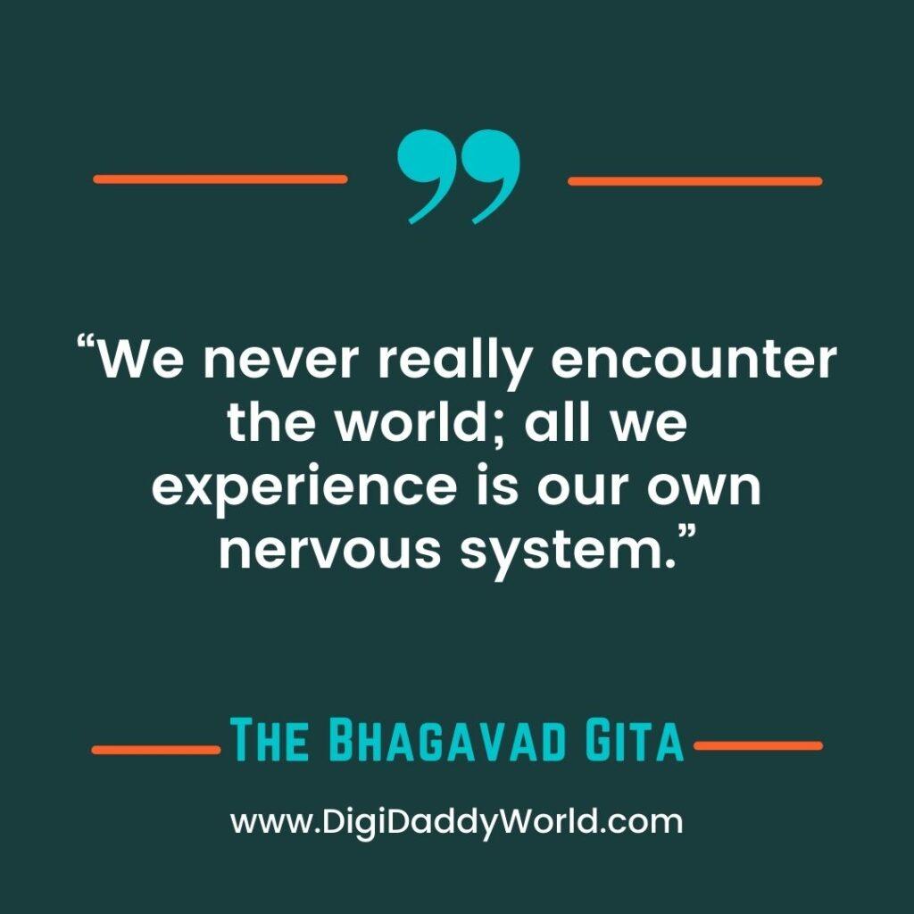 The Bhagavad Gita Quotes in English on Success, Love, Karma