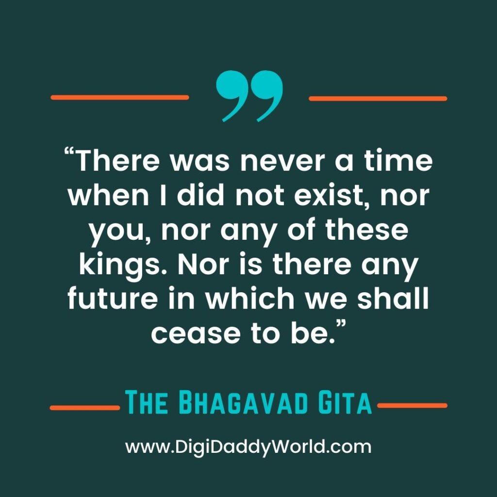 The Bhagavad Gita Quotes in English on Life, Love, Karma
