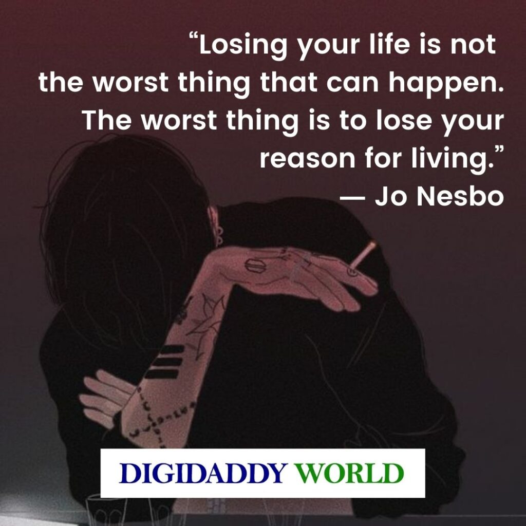 Depression Quotes, Sad Depressing Thoughts On Life