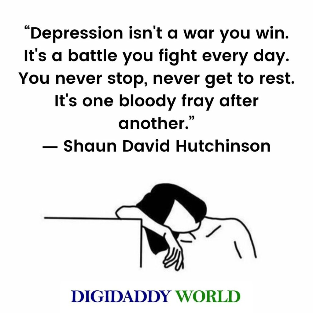 Depression Quotes Short
