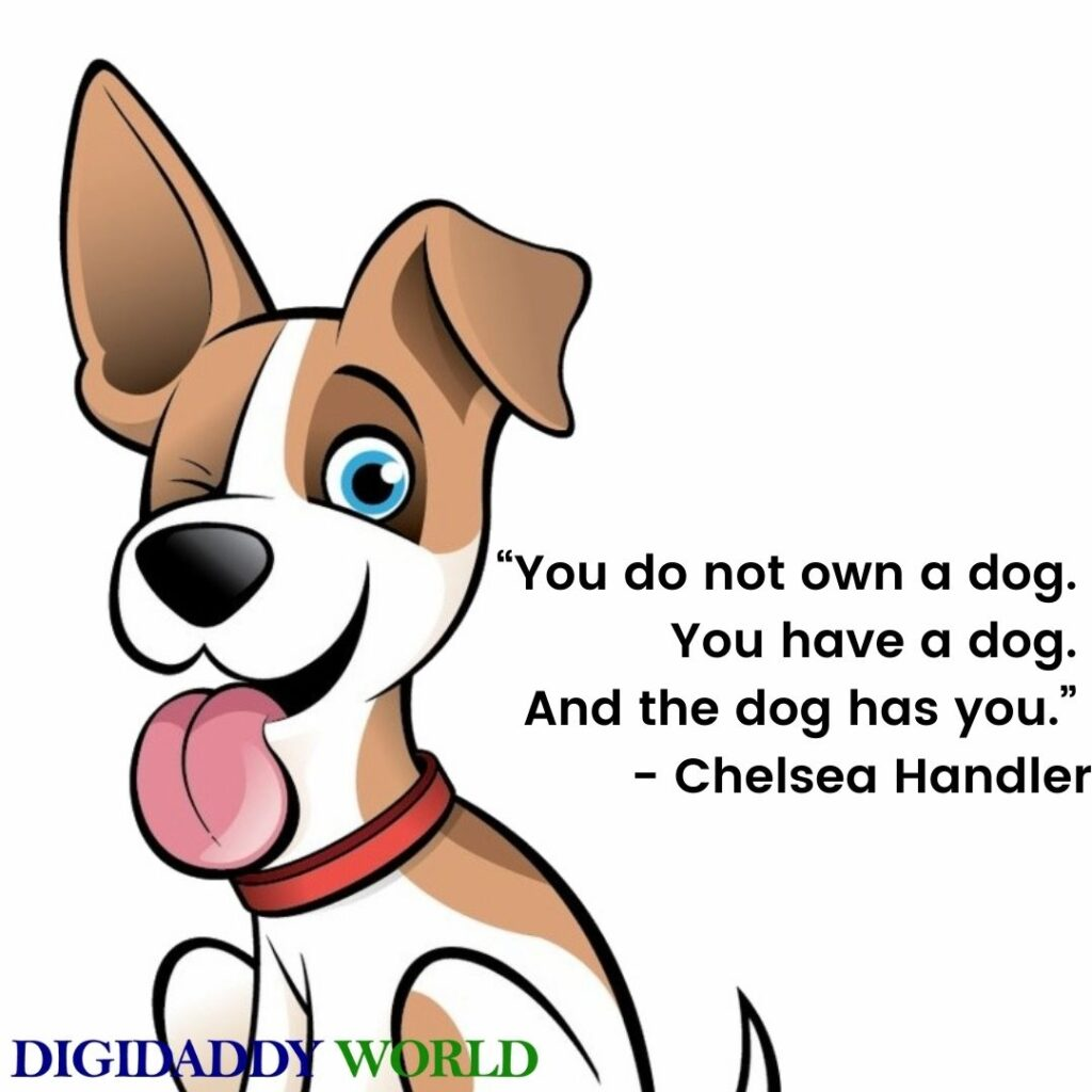 Short Dog Quotes On Love, Loyalty, Friendship, Loss